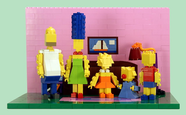 Miniland Simpsons Family