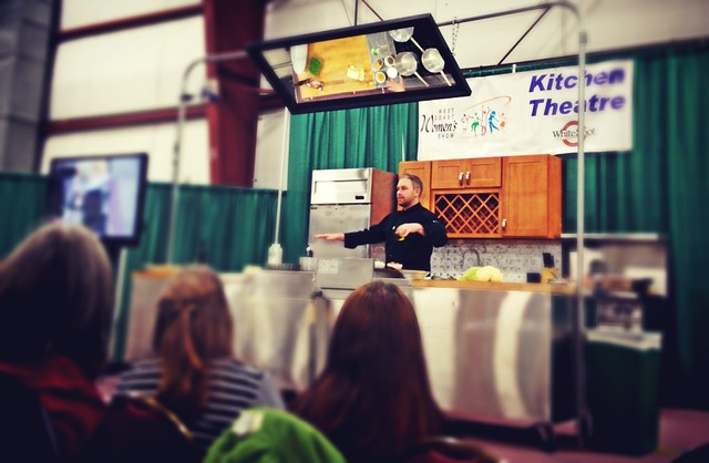 """Trendiest vegetable of the year"" - Jeff from @restaurant62 on cauliflower at @WCWomensShow"