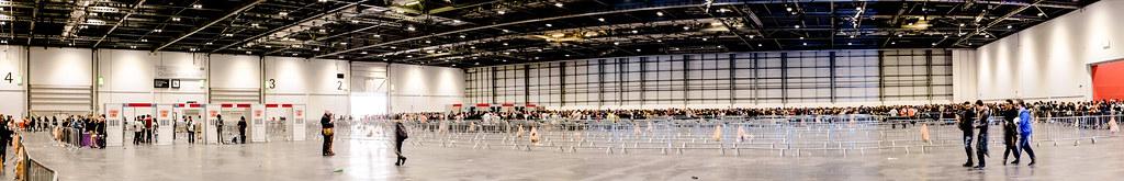 MCM Comic Con: The 2+ hour queue