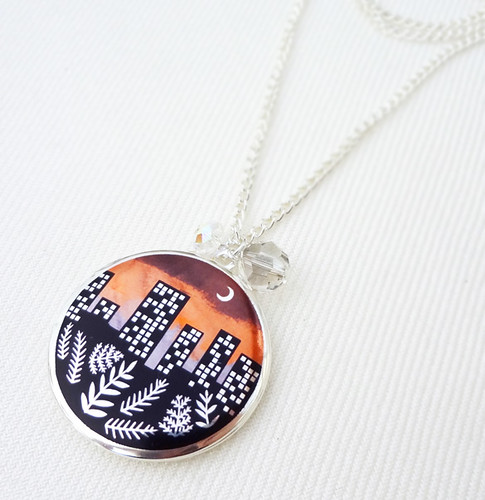 City Lights Locket