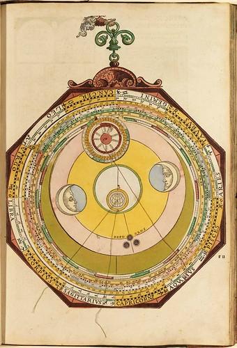 005-Astronomicum Caesareum-1540- Petrus Apianus -Staatsblibliothek Bamberg