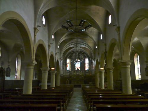 Clermont, Landes: église Sainte Madeleine.