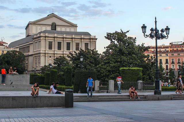 Plaza de Oriente de Madrid
