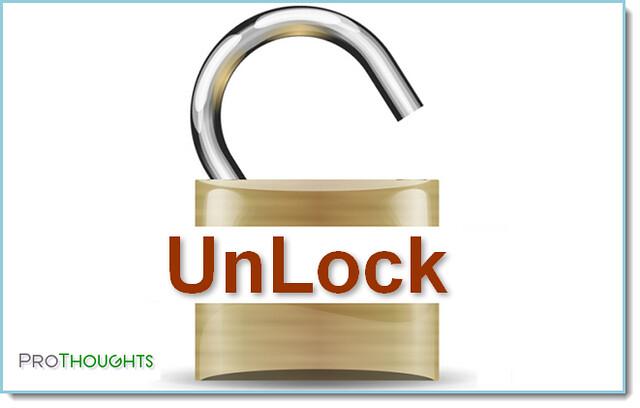 unlock files