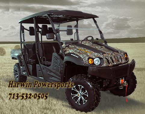 2014 Massimo 700cc 4-Seater UTV 4x4