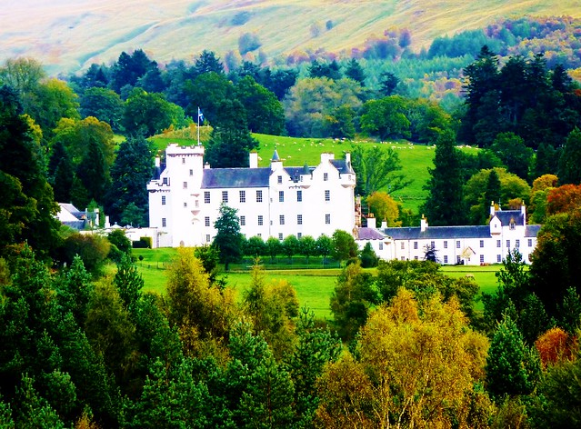 Blair Castle, Blair Atholl, Scotland