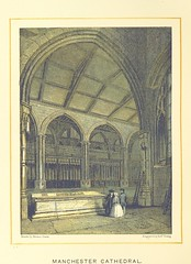 """British Library digitised image from page 30 of """"[Manchester Cathedral.] Ward and Lock's Illustrated Historical Handbook to Manchester Cathedral, etc"""""""