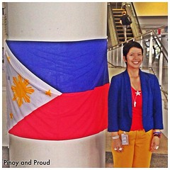 Red, yellow, blue and white. Proud to be Pinoy. #UNday #uwcsea_east #love