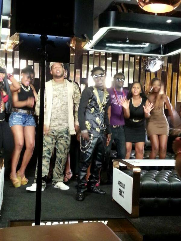 D Black and Shatta Wale's video shoot in South Africa