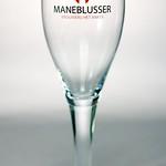 ベルギービール大好き!!【マーネブリュッセルの専用グラス】(管理人所有 )
