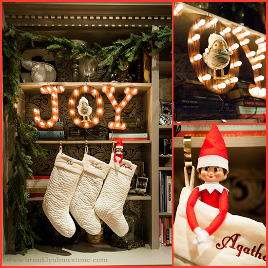 Carolers Displayed On A Mantle With Garland And Stockings: Fireplace Mantle Alternatives For Stocking Hanging