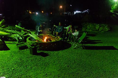 Camping in Guoxing