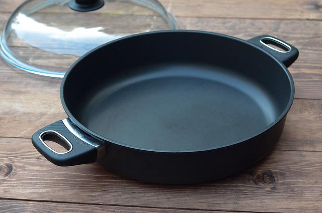 A Gastrolux nonstick saute pan.