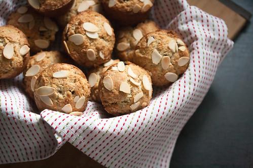 Cherry-Almond Muffins