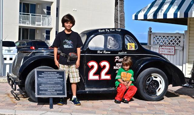 Winner of first NASCAR race - 1948