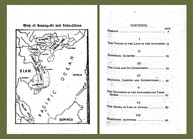 Map of Kwang-Si and Indo-China - Table of Contents