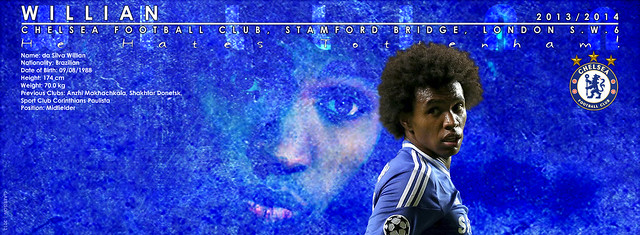 WILLIAN - Season 2013/14 for facebook covers