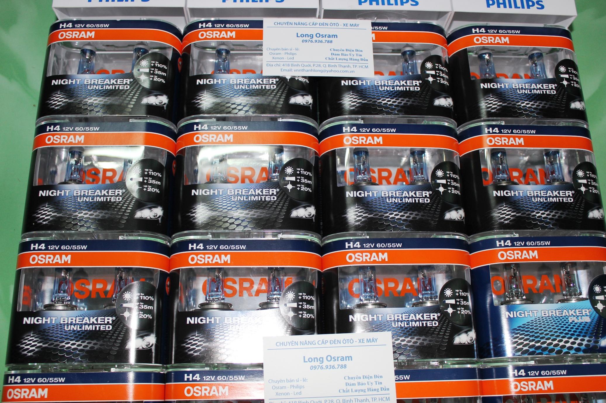 Osram Night Breaker, Philips Xtreme, Xenon Germany...ánh sáng cho xế yêu đây. - 2