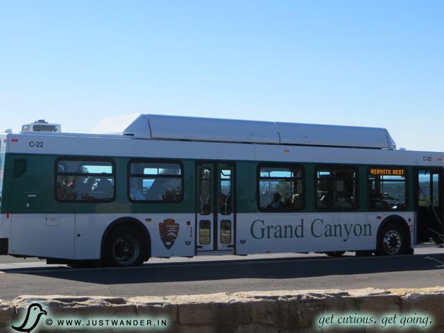 PIC: Grand Canyon Village - South Rim Shuttle Bus