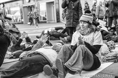 Flashmob...Pflege am Boden...
