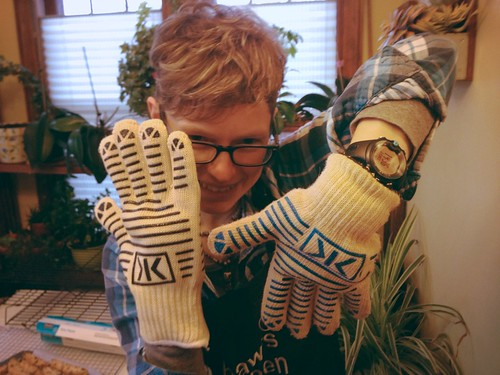 New Ove Glove - Thanks, Sue!