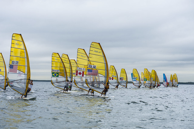 RS:X Men - 2014 ISAF Sailing World Cup Miami