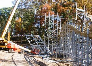 Voyage construction during the fall of 2005