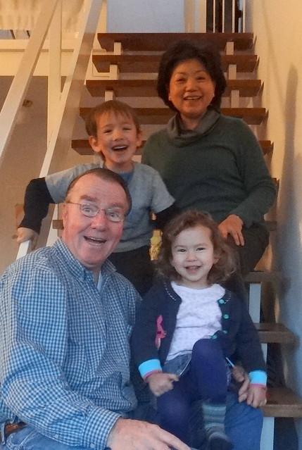 Grandma & Grandpa visit