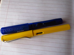 utility knife(0.0), pen(1.0),