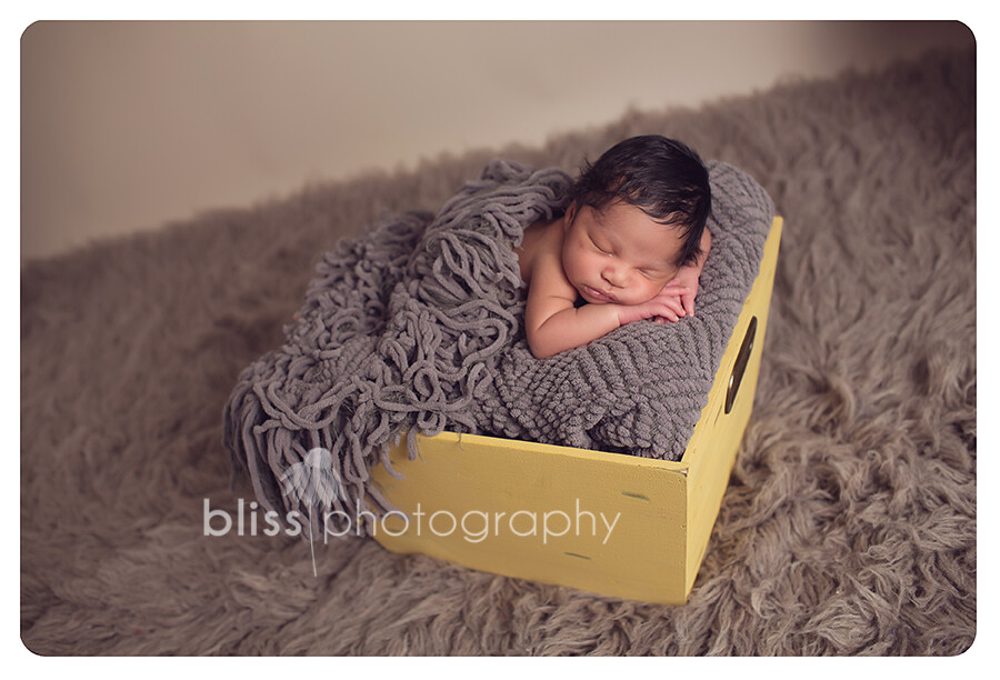 yellow gray newborn bliss photography-2535