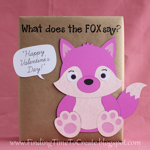 fox valentine collection box