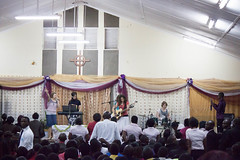 Singing at David Livingstone Bible College