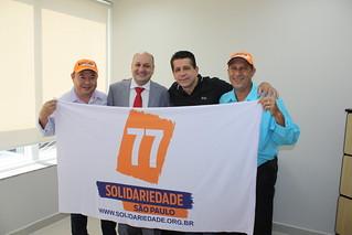 Roberto Sekiya, Chicão Momesso, David Martins e Nivaldo Ribeiro