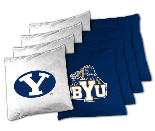 Brigham Young Cougars Cornhole Bags