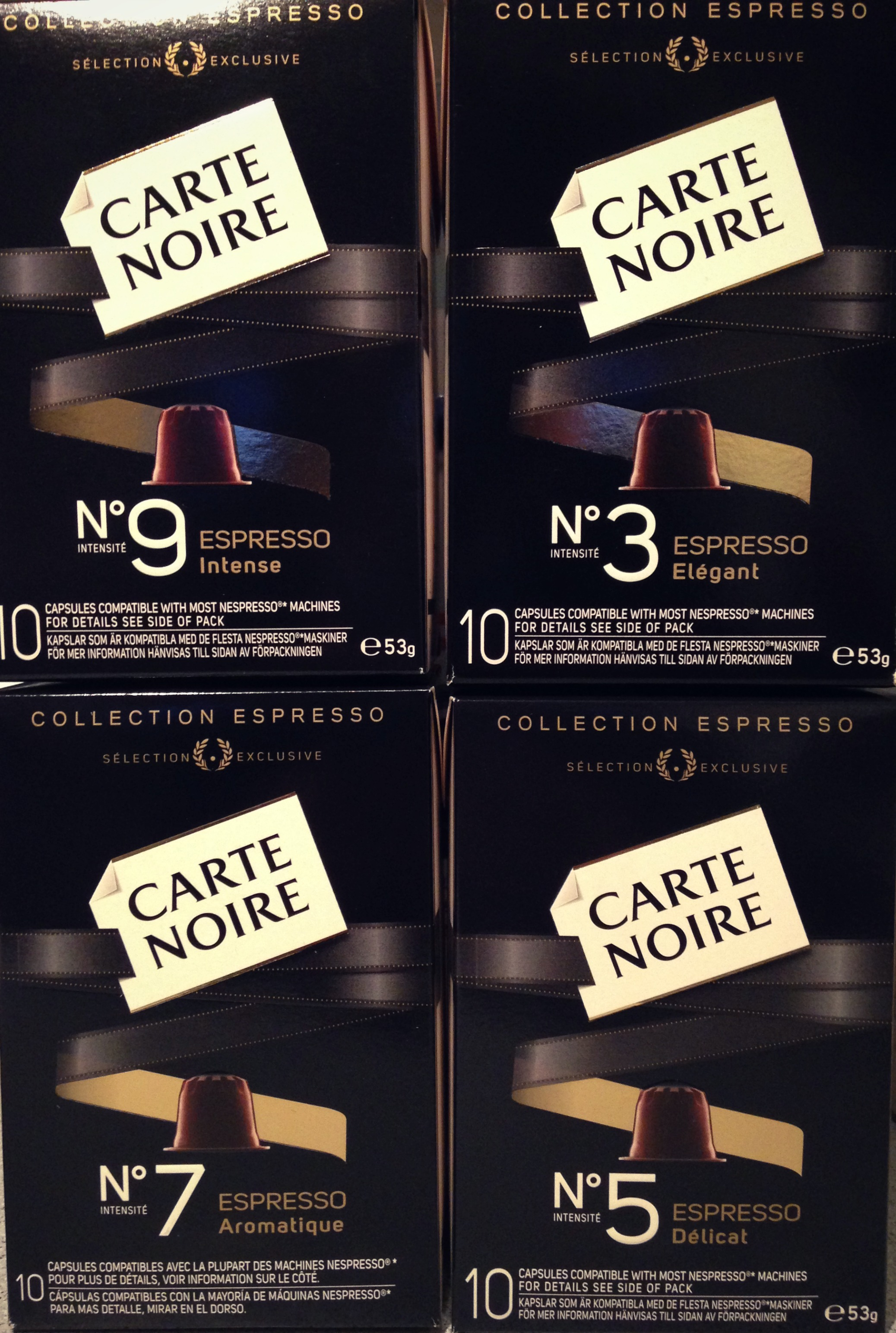 carte noire espresso collection