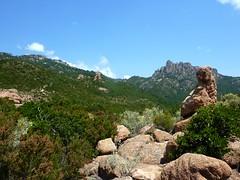 Col de l'aiguille 726m : vers le GR20 et Punta Balardia