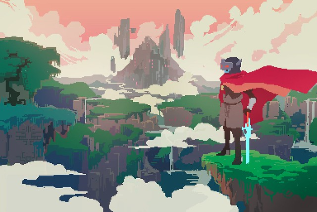 Hyper Light Drifter on PS4 and PS Vita