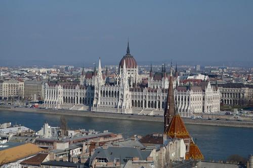 Danube & Budapest Parliament