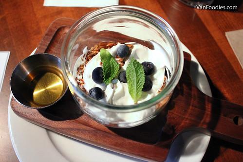 Granola + Yogurt Parfait