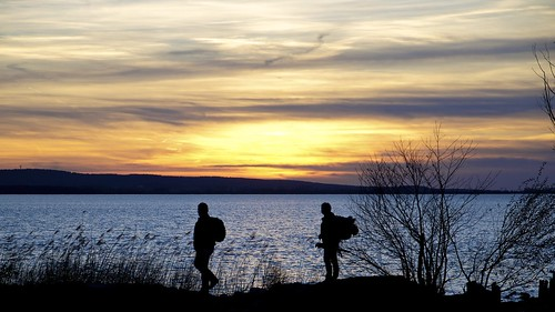 sunset abend wasser sonnenuntergang steinhude steinhudermeer 100er d5100