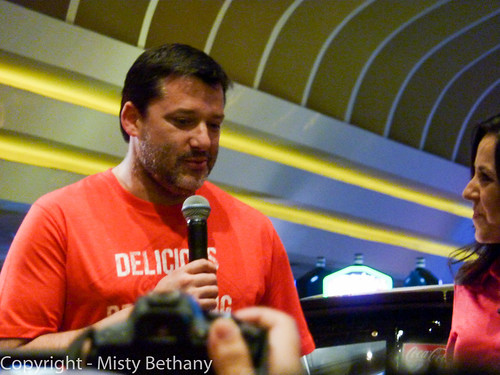 Tony Stewart answers questions