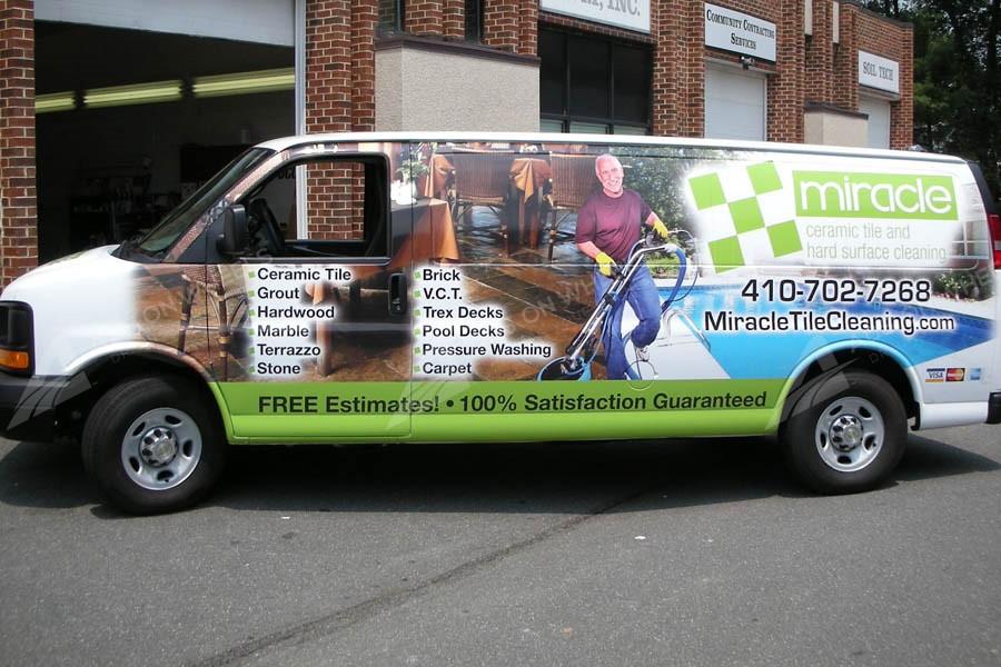 Cargo Van Wraps Vehicle Wraps Fleet Graphics Mobile