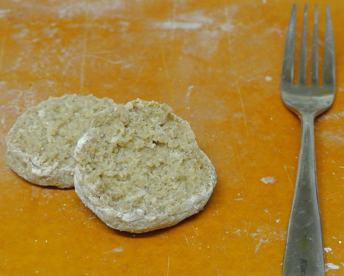 Sourdough English Muffins - Crumb