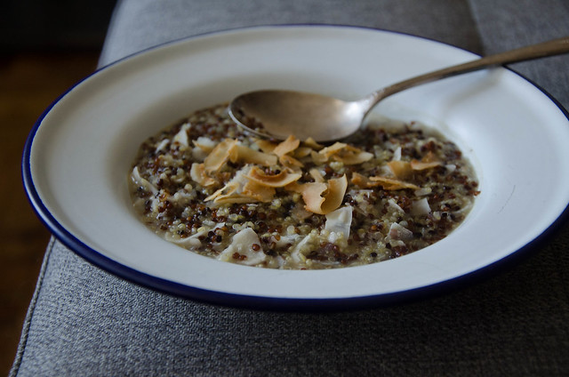 Triple-Quinoa Porridge