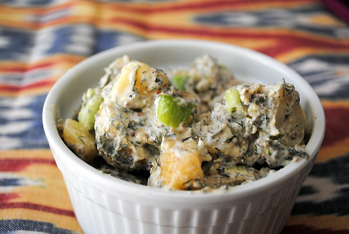 Greek Yogurt & Herb Potato Salad