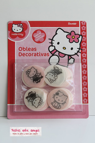 Obleas de Hello Kitty