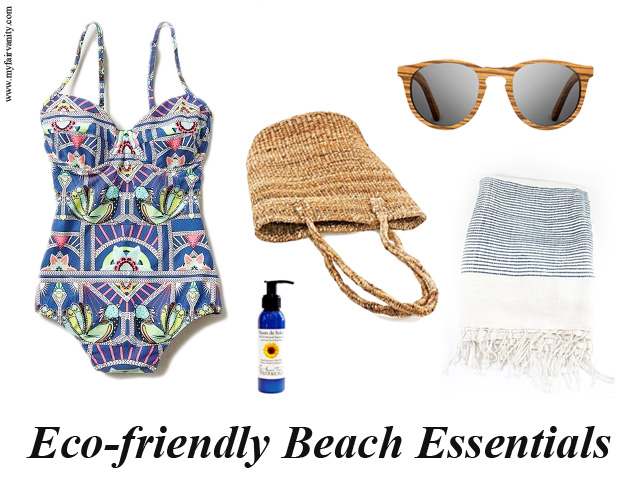 eco-friendly beach essentials mara hoffman one piece ethical fashion