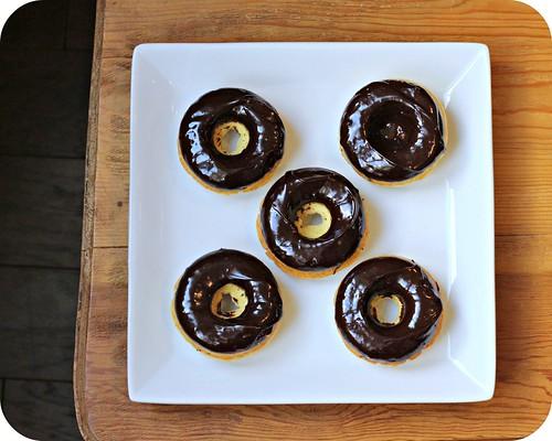 Chocolate Ganache Doughnuts