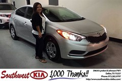 #HappyBirthday to Veronica Rodriguez from Mercado Salvador  at Southwest Kia Dallas!