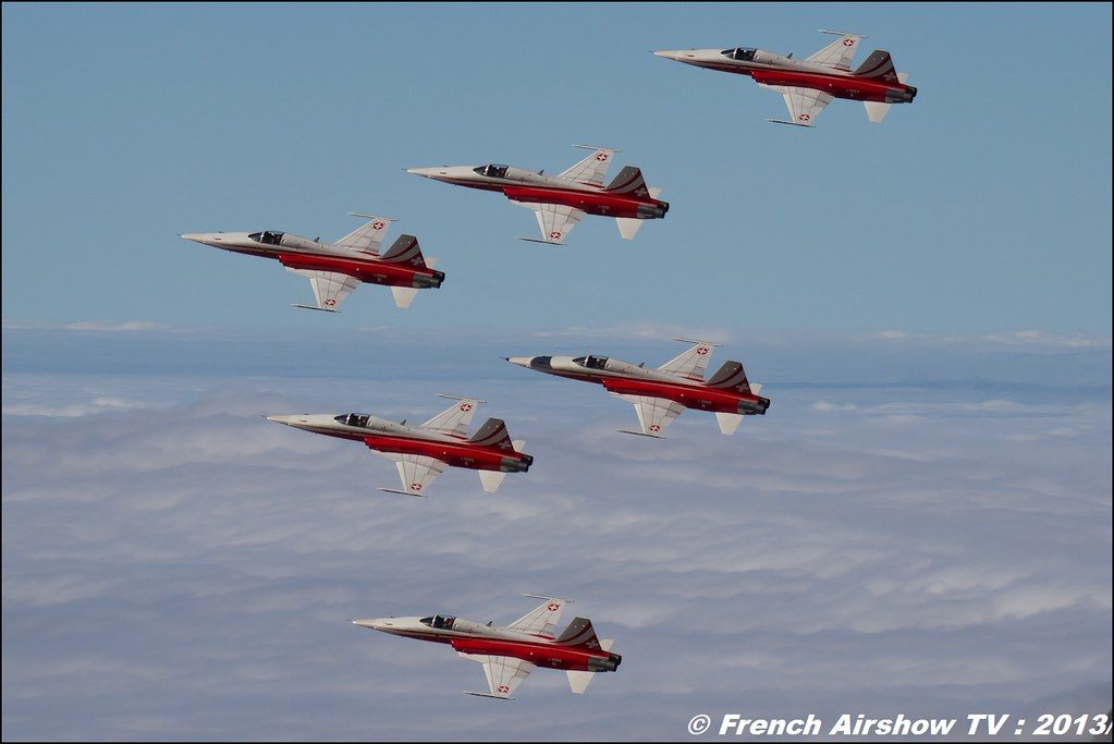 Patrouille Suisse Exercices de tir d'aviation Axalp, Axalp / Brienz, Abeflue ,Axalp 2013